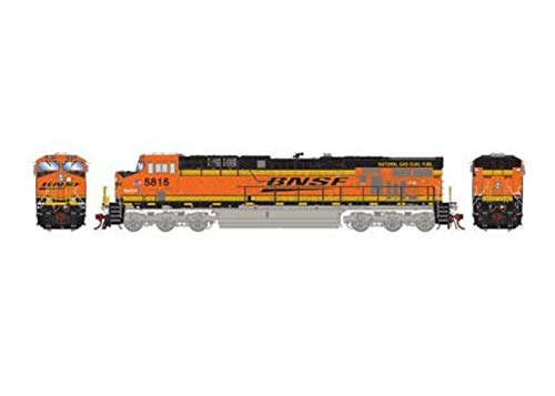 Athearn HO ES44AC with DCC & Sound BNSF Railway LNG ()