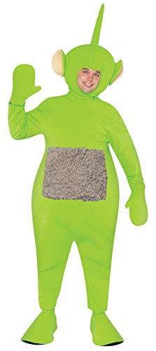 UHC Men's Teletubbies Dipsy Outfit Funny Theme Adult Halloween Costume, OS]()