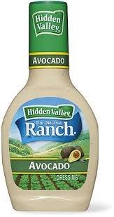 Hidden Valley Ranch Avocado Dressing