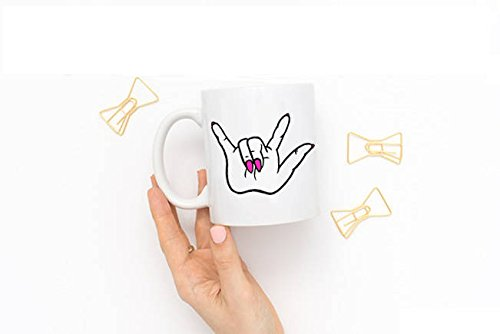 LIZNICE - Rock On Mug, Rocker Coffee Mug, Rocker Chick mug, Rocker girl mug, Punk Rock Mug, coffee mug, funny mug, coffee cup, glam rock, rock on, MUG 11oz