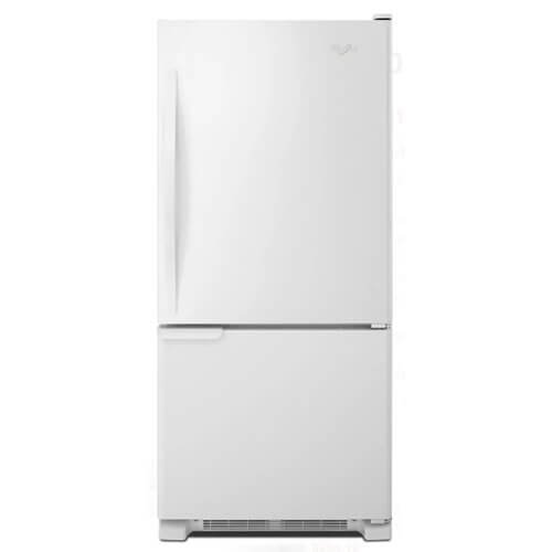 Whirlpool WRB119WFBW/WRB119WFBW/WRB119WFBW WRB119WFBW 18.5 Cu. Ft. Bottom-Freezer Freestanding White Refrigerator