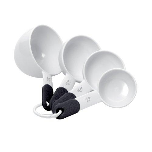 KitchenAid KC058OHWHA 4 Piece White Measuring Cup Set