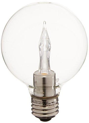 Ushio BC1799 1003859 G25 LED Bulb, E26, 120V 3W - Dimmable - 2700K - 180 Lm. - Clear
