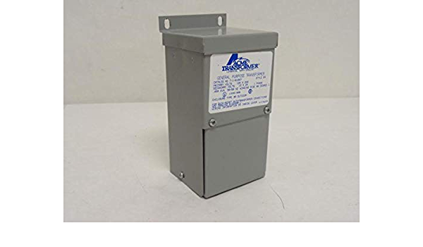 GE 9T51B0207 0.25 KVA SINGLE PHASE 240X480 24//48 BUCK BOOST TRANSFORMER