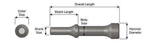 AJXA967 1'' Smoothing Hammer .498 by Ajax Tool Works