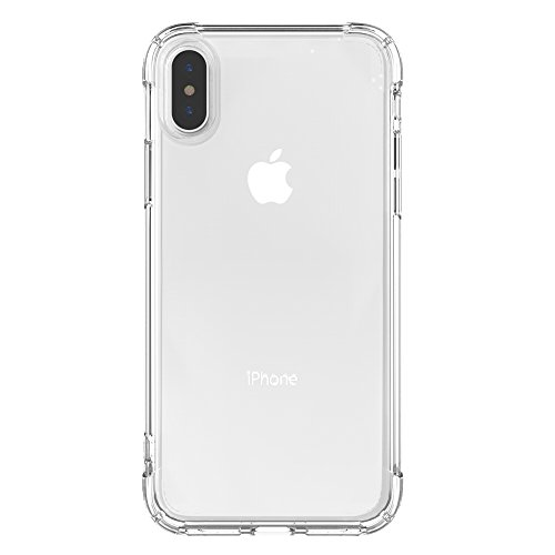 Vieykll iPhone Xs Max Case Ultra-Thin Protection and Advanced Transparent TPU for Apple iPhone Xs Max case 2018 6.5 inch - Transparent