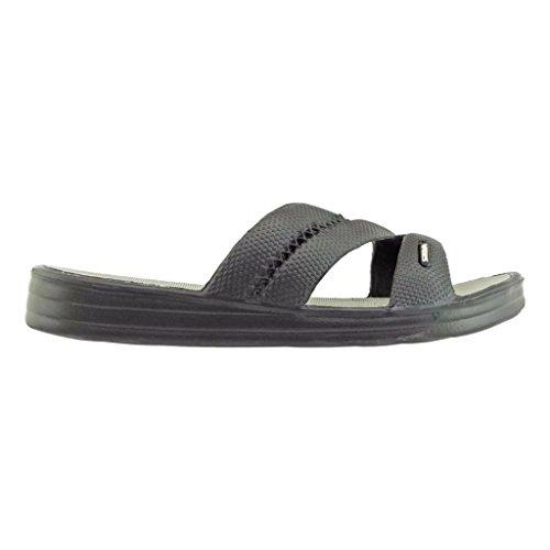 6bebdd467074 Air Balance Women s 3-Strap Slip-On Slide Sandals 60%OFF ...