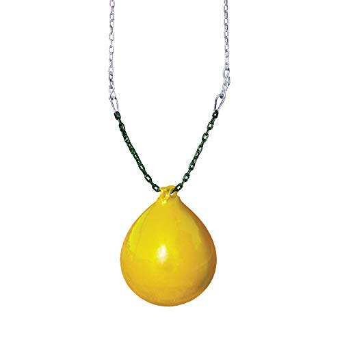Gorilla Playsets Buoy Ball w/Chain and Spring Clips - Yellow (Buoy Ball Swing)