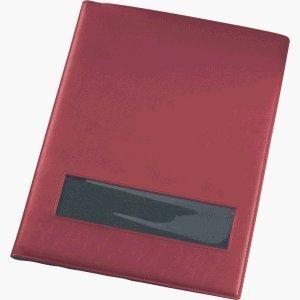 REXEL Sichtbuch ProStyle granat, A4, 20 Hüllen, rot/schwarz VE=1