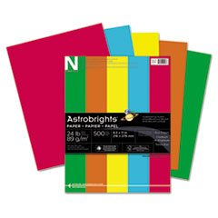 Astrobrights Colored Paper, 24lb, 8 1/2 X 11, Sunburst Yellow, 500 Sheets/ream