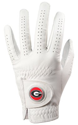 Bulldog Wristband (Georgia Bulldogs Golf Glove & Ball Marker - Left Hand - Large)