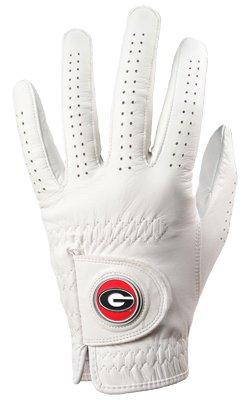 Wristband Bulldog (Georgia Bulldogs Golf Glove & Ball Marker - Left Hand - Large)