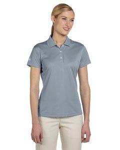 adidas Golf Ladies' ClimaLite Basic Short-Sleeve Polo M ZONE