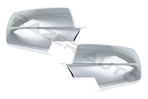 Razer Auto Chrome Full Mirror Cover for 2014-2015 Chevy Silverado 1500/2015 Chevy Silverado 2500 & 3500/2014-2015 GMC Sierra 1500/2015 GMC Sierra 2500 & 3500