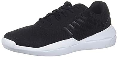 K-Swiss Women's Infinite Function Sneaker, Black/White, 5 M US