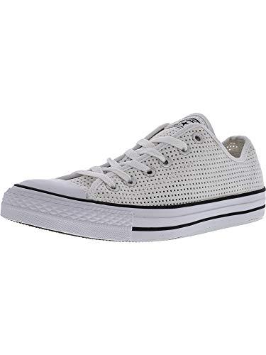Chuck Ox Converse Core Lea White Taylor black Sneaker Unisex Adulto FwqvUdqa