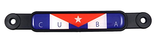 cuban flag car decal - 6
