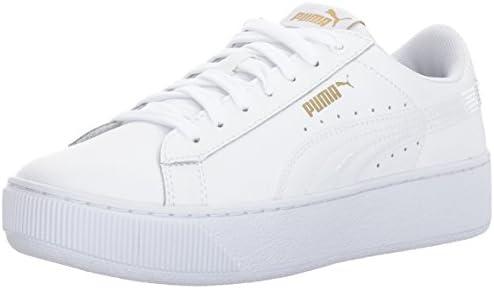 puma leather white
