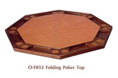 Kestell Folding Poker Table Top