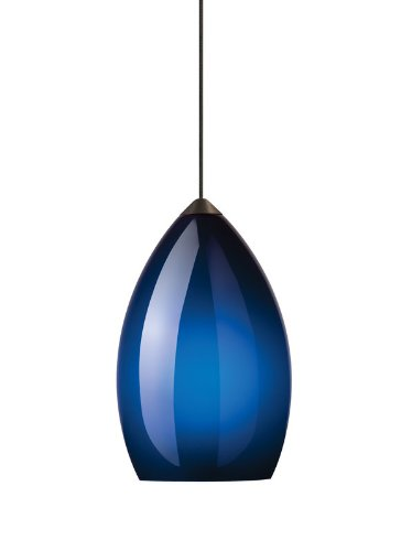 Field Cuttable Track (Tech Lighting Firefrost Cobalt Blue Pendant Light)