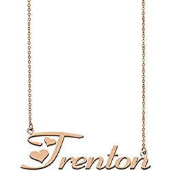 A Missing Dog Personalized My Name Necklace Trenton