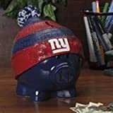 Forever Collectibles New York Giants Piggy Bank - Large with Hat