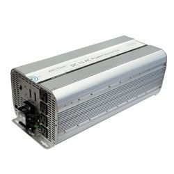 (AIMS Power 8000 Watt 220V AC 50 Hz Inverter European/African Power)