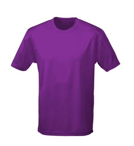 Just Cool - Performance T-Shirt, atmungsaktiv L,Magenta