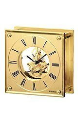 (Seiko Clocks Desk & Table clock #QHG036GLH)