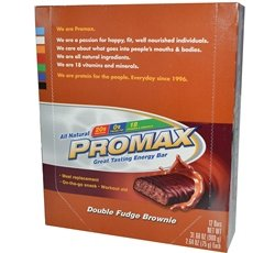 Promax Double Fudge (Promax Double Fudge Brownie 12x 2.64Oz)
