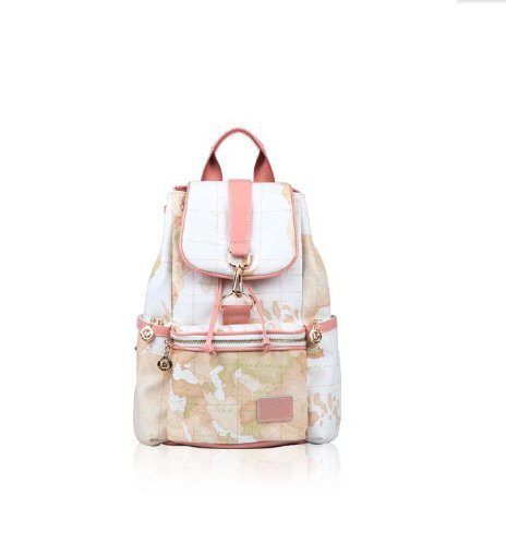 Speaking life fashion vintage style white world map backpack bag save gumiabroncs Gallery