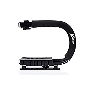 Opteka X-GRIP Professional Camera / Camcorder Action Stabilizing Handle- Black