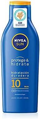 NIVEA SUN Protege & Hidrata Leche Solar FP10 (1 x 200 ml ...