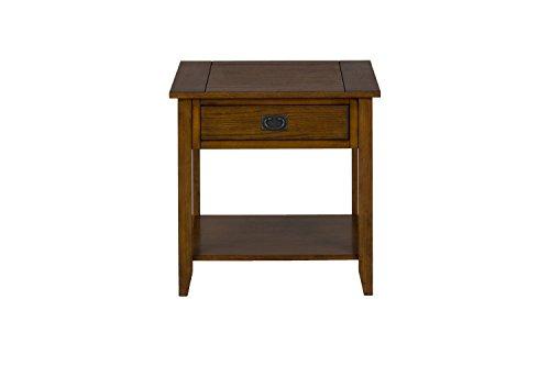 Jofran 1032-3 End Table, Mission Oak (Mission Oak Bedroom Suite)
