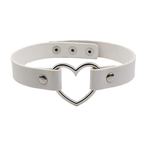 Aworth Stainless Steel Heart Chokers Necklaces Charm for sale  Delivered anywhere in USA
