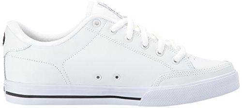 C1RCA Lopez50, Sneaker basse Unisex - Adulto White/Black