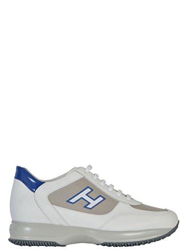 Hogan Sneakers Uomo HXM00N0Q102CPS687G Pelle Bianco/Blu
