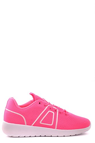 Asfvlt Sneakers Donna MCBI026005O Tessuto Bianco/Rosa