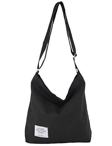 Womens Work Canvas Hobo Tote Bags with Zipper Crossbody Handbags Purses Casual Large Shoulder Shopping Bag - Over Large Tote