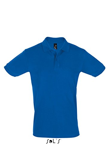 Men´s Polo Shirt Perfect - Farbe: Royal Blue - Größe: L