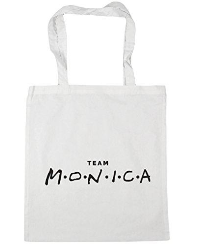 litres Shopping Team White Gym Beach x38cm Tote Monica 10 HippoWarehouse 42cm Bag qvxwtAtdF