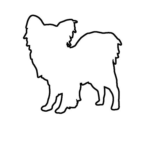 - ION Graphics Magnet Papillon Magnetic Vinyl Dog Canine pet 5