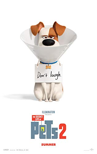 - SECRET LIFE OF PETS 2 (2019) Original Authentic Movie Poster 27x40 - Dbl-Sided - Kevin Hart - Dana Carvey - Patton Oswalt - Eric Stonestreet - Lake Bell