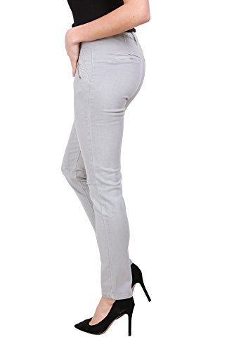 Stretch du Onado Pantalon 36 Gris 44 Slim Denim Jeans Femme au RqYaqrgX