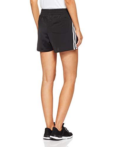 Stripes neri Adidas da 3 Pantaloncini donna JK1lFuT5c3