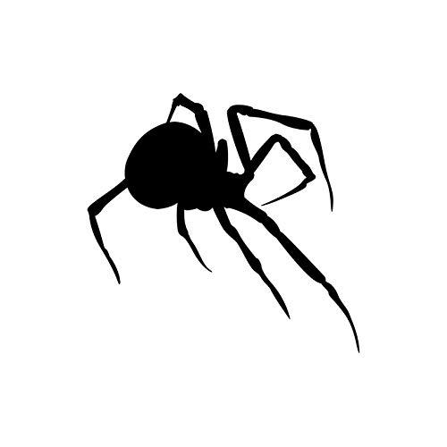 Amazon Com Crawling Black Widow Spider Wall Decal 7 5