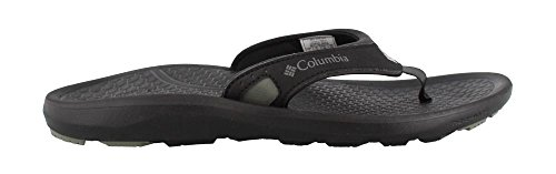 Columbia Men's, Riptide II Flip Sandals Black 8 M