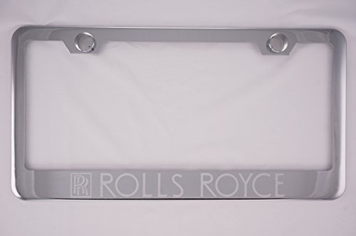 rolls-royce-chrome-license-plate-frame-with-caps