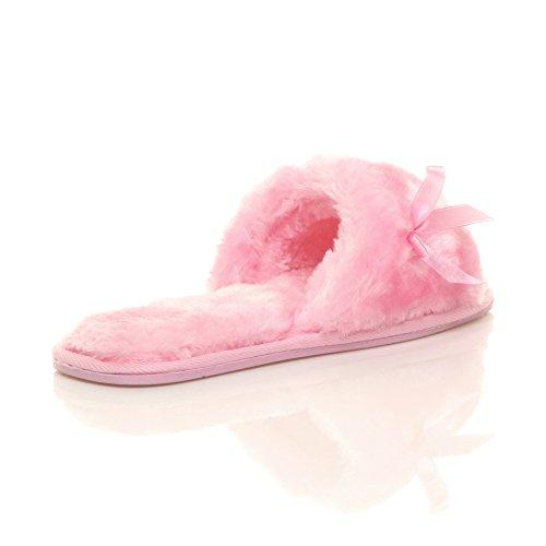 Ajvani - Zapatillas de estar por casa de Material Sintético para mujer Rosa
