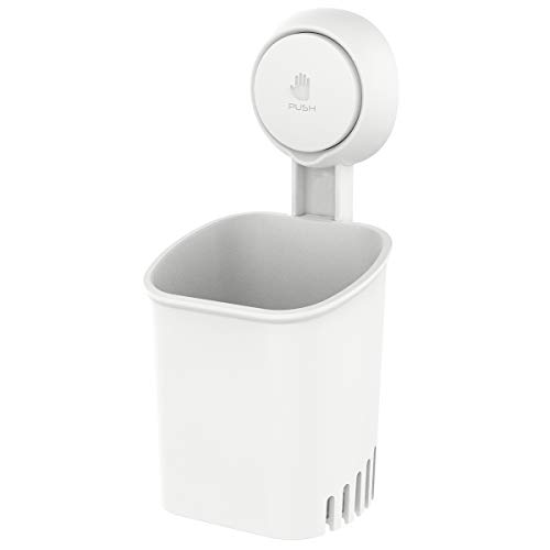 TAILI Suction Cup Toothbrush Holder Wall Mounted, Power